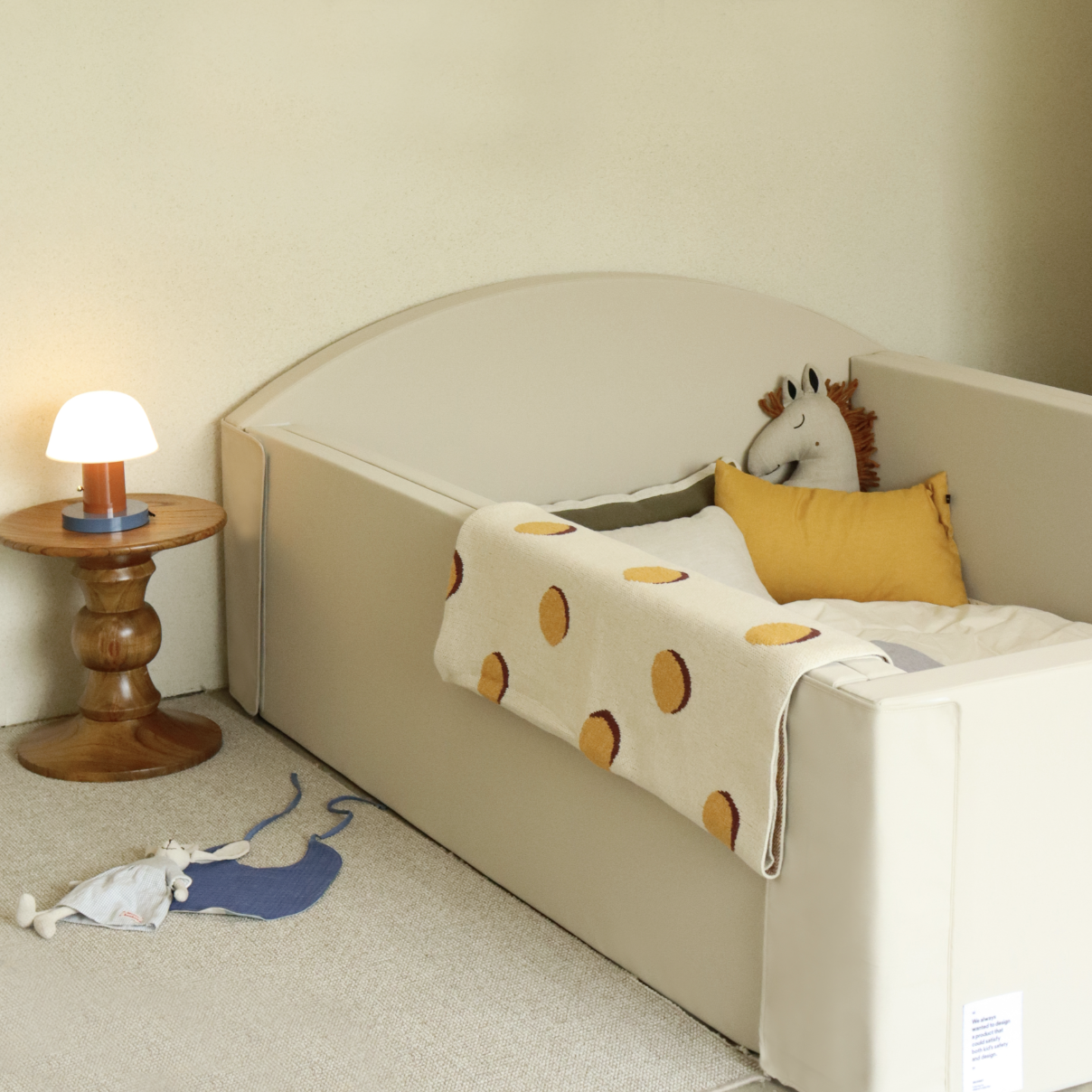 Bumper Bed - 'Cinamon Beige'